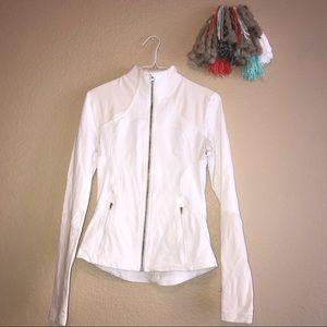 Lululemon Define Jacket 6 White Cream